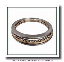 ZKL 51126 Single direction thurst ball bearings