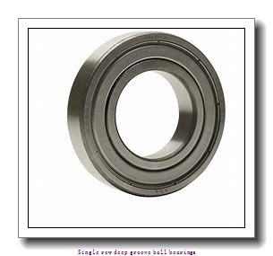 5 mm x 16 mm x 5 mm  ZKL 625 Single row deep groove ball bearings