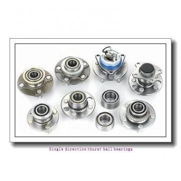 ZKL 51208 Single direction thurst ball bearings