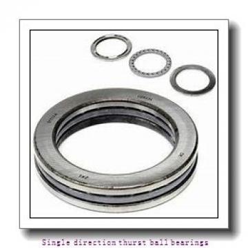ZKL 51111 Single direction thurst ball bearings