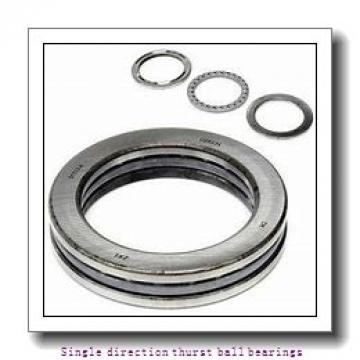 ZKL 51238 Single direction thurst ball bearings