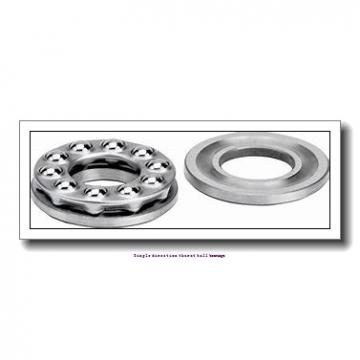 ZKL 51215 Single direction thurst ball bearings