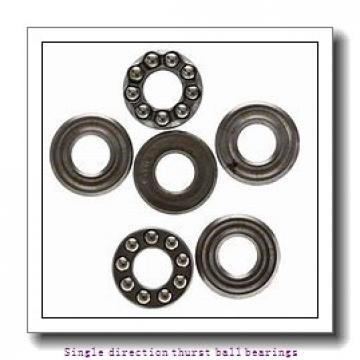 ZKL 51140 Single direction thurst ball bearings