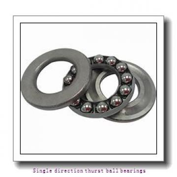 ZKL 51138 Single direction thurst ball bearings
