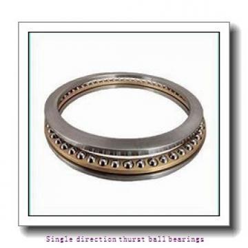 ZKL 51120 Single direction thurst ball bearings
