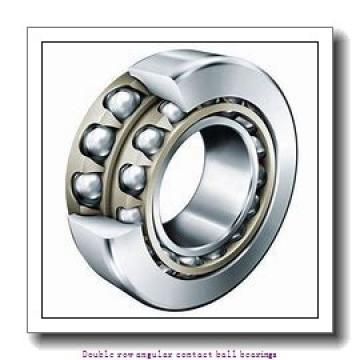 60  x 130 mm x 54 mm  ZKL 3312 Double row angular contact ball bearing