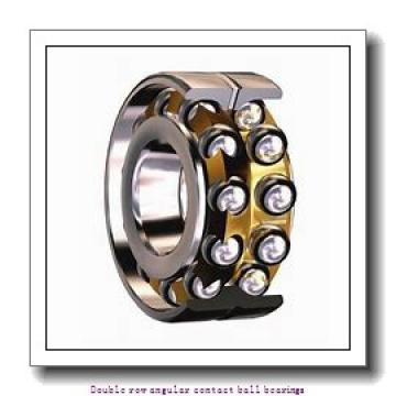 25  x 62 mm x 25.4 mm  ZKL 3305 Double row angular contact ball bearing