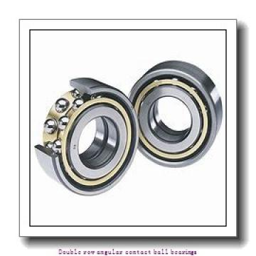 40   x 90 mm x 36.5 mm  ZKL 3308 Double row angular contact ball bearing