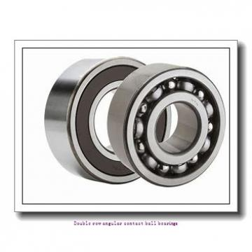 50  x 110 mm x 44.4 mm  ZKL 3310 C3 Double row angular contact ball bearing