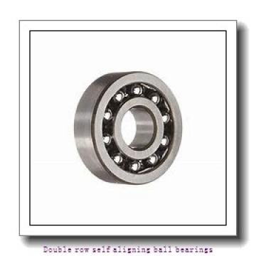 30 mm x 62 mm x 20 mm  ZKL 2206 Double row self-aligning ball bearings