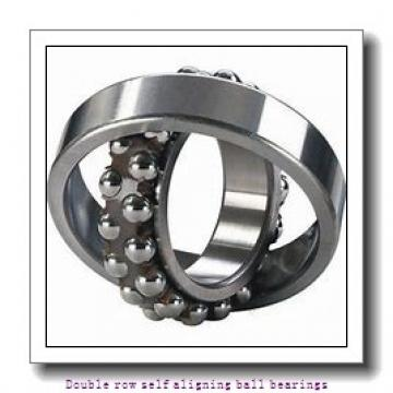 100 mm x 180 mm x 46 mm  ZKL 2220 Double row self-aligning ball bearings