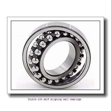 25 mm x 52 mm x 15 mm  ZKL 1205 Double row self-aligning ball bearings