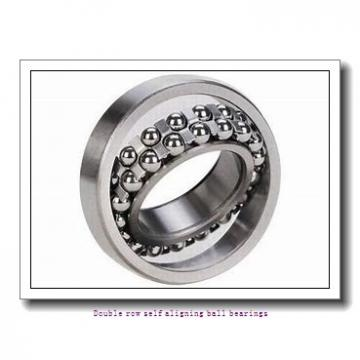 25 mm x 62 mm x 17 mm  ZKL 1305 Double row self-aligning ball bearings