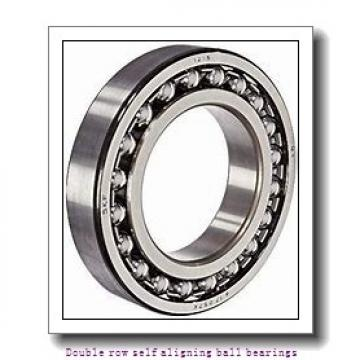 90 mm x 160 mm x 40 mm  ZKL 2218 Double row self-aligning ball bearings