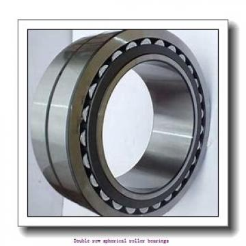 260 mm x 360 mm x 75 mm  ZKL 23952EW33MH Double row spherical roller bearings