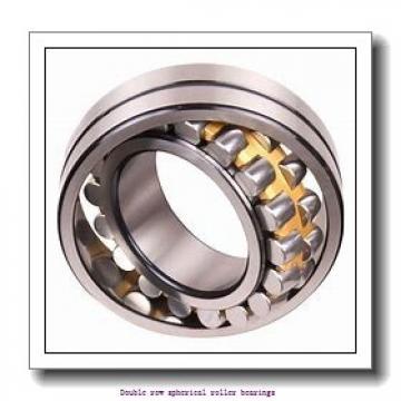 130 mm x 210 mm x 80 mm  ZKL 24126CW33J Double row spherical roller bearings
