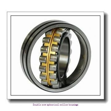 110 mm x 180 mm x 56 mm  ZKL 23122W33M Double row spherical roller bearings