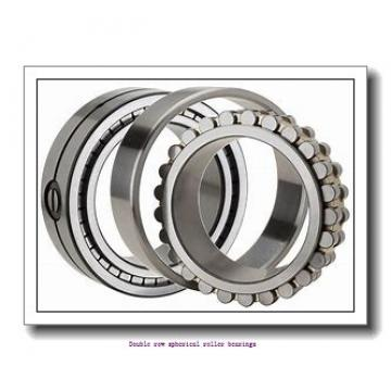 120 mm x 215 mm x 76 mm  ZKL 23224W33M Double row spherical roller bearings