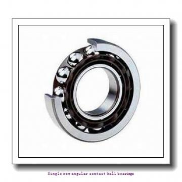 15 mm x 35 mm x 11 mm  15 mm x 35 mm x 11 mm  ZKL 7202AA Single row angular contact ball bearings