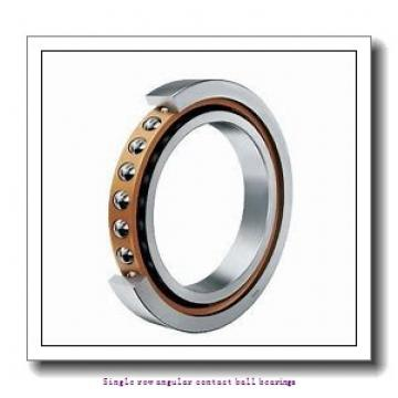 17 mm x 47 mm x 14 mm  17 mm x 47 mm x 14 mm  ZKL 7303B Single row angular contact ball bearings