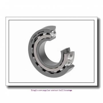 25 mm x 62 mm x 17 mm  25 mm x 62 mm x 17 mm  ZKL 7305B Single row angular contact ball bearings