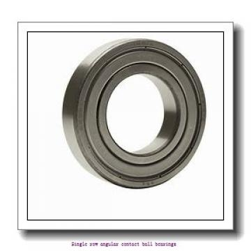 15 mm x 35 mm x 11 mm  15 mm x 35 mm x 11 mm  ZKL 7202B Single row angular contact ball bearings