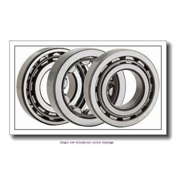 ZKL NU317 Single row cylindrical roller bearings