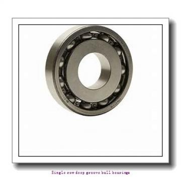 30 mm x 62 mm x 16 mm  ZKL 6206 Single row deep groove ball bearings