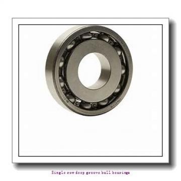 7 mm x 19 mm x 6 mm  ZKL 607 Single row deep groove ball bearings