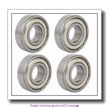 17 mm x 40 mm x 12 mm  ZKL 6203 Single row deep groove ball bearings