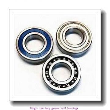 55 mm x 100 mm x 21 mm  ZKL 6211 Single row deep groove ball bearings