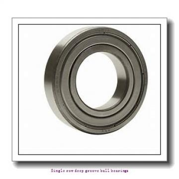 25 mm x 62 mm x 17 mm  ZKL 6305 Single row deep groove ball bearings