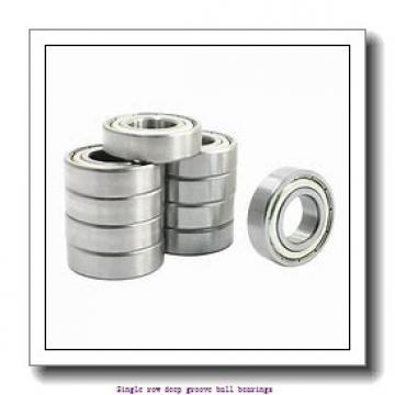 5 mm x 19 mm x 6 mm  ZKL 635 Single row deep groove ball bearings