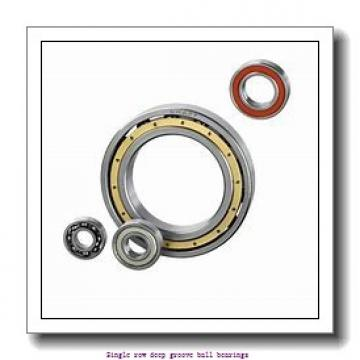 80 mm x 200 mm x 48 mm  ZKL 6416 Single row deep groove ball bearings