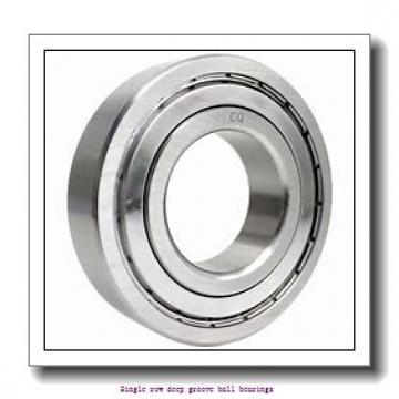 20 mm x 52 mm x 21 mm  ZKL 62304 Single row deep groove ball bearings