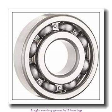 90 mm x 190 mm x 43 mm  ZKL 6318 Single row deep groove ball bearings