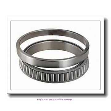 ZKL 30217A Single row tapered roller bearings
