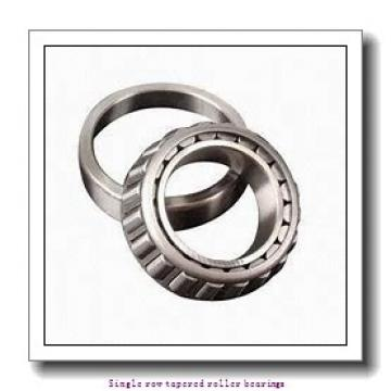 ZKL 33020A Single row tapered roller bearings