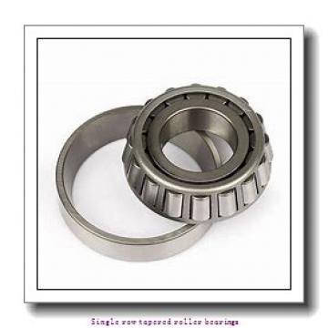 ZKL 33217A Single row tapered roller bearings