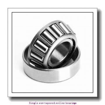 ZKL 33017A Single row tapered roller bearings