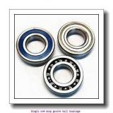 17 mm x 40 mm x 16 mm  ZKL 62203 Single row deep groove ball bearings