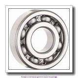 20 mm x 42 mm x 8 mm  ZKL 16004D Single row deep groove ball bearings